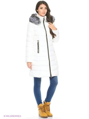 Пальто Snow Guard. Цвет: белый