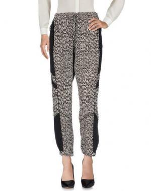 Повседневные брюки PAM & GELA. Цвет: черный