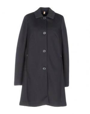 Легкое пальто GEOSPIRIT. Цвет: свинцово-серый