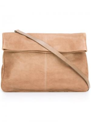 Большая сумка на плечо Pomme Ally Capellino. Цвет: телесный