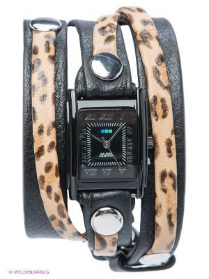 Часы La Mer Collections. Цвет: черный, бежевый