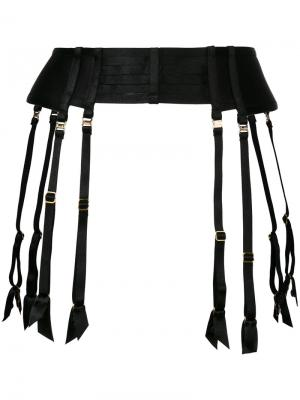 Suspender belt Bordelle. Цвет: чёрный