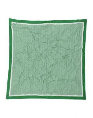 Платок CLAUDIO CUTULI. Цвет: зеленый