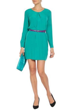 Платье Whos Who Who's. Цвет: зеленый