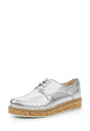 Ботинки Trussardi Jeans. Цвет: серебряный