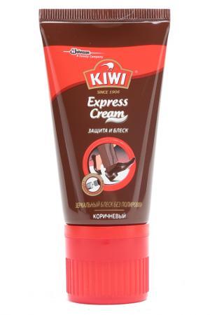 Крем для обуви KIWI. Цвет: коричневый