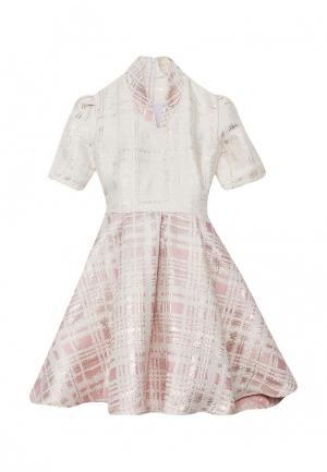 Платье Shened. Цвет: бежевый