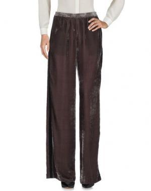 Повседневные брюки NUDE. Цвет: свинцово-серый