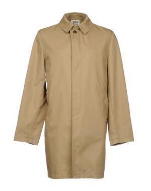 Легкое пальто L'IMPERMEABILE. Цвет: песочный