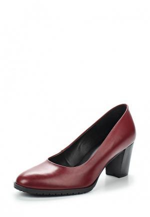 Туфли Tamaris. Цвет: бордовый