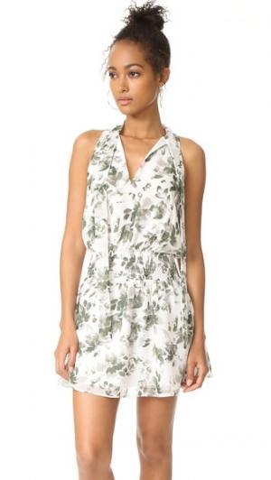 Мини-платье Cabana Cafe Ali & Jay. Цвет: цветочный принт green dream