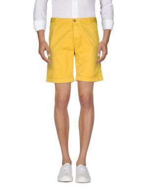 Повседневные шорты BASICON. Цвет: желтый