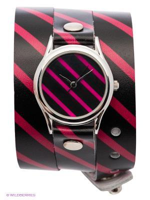 Часы DenisMart. Цвет: черный, розовый