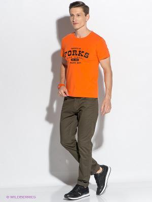 Футболка D.S. Цвет: оранжевый