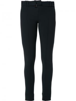 Belted leggings Gloria Coelho. Цвет: чёрный