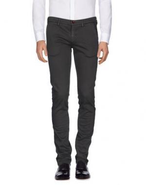 Повседневные брюки MASSIMO REBECCHI. Цвет: свинцово-серый