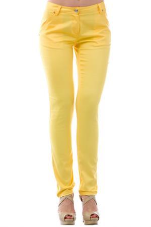 Брюки JOELLE JO'ELLE. Цвет: желтый