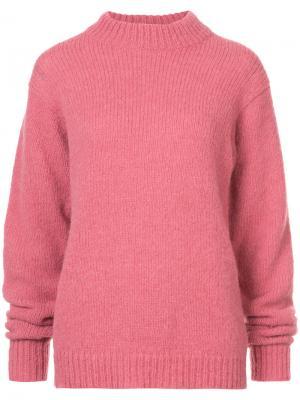 Свитер Cozette Easy Tibi. Цвет: розовый и фиолетовый