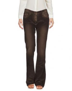 Повседневные брюки ADELE FADO. Цвет: хаки