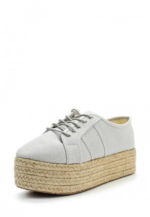 Ботинки Coco Perla. Цвет: серый