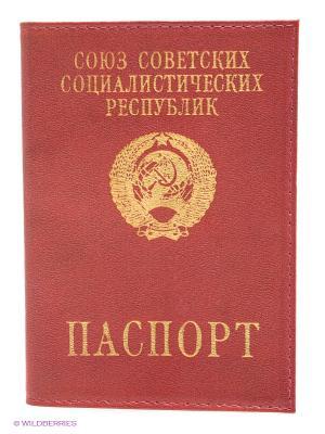 Обложка для паспорта Mitya Veselkov. Цвет: розовый