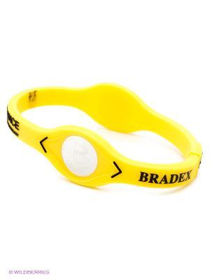 Браслет ЭНЕРГИЯ ЖИЗНИ  жёлтый BRADEX. Цвет: желтый