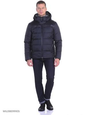 Зимняя куртка Clasna. Цвет: темно-синий