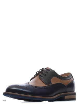 Туфли El Tempo. Цвет: черный, коричневый