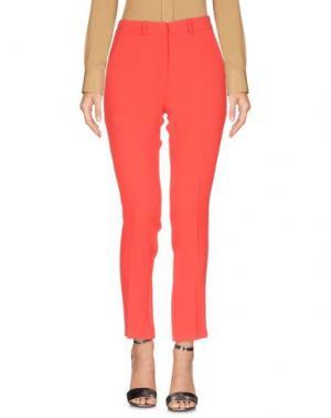 Повседневные брюки BA&SH. Цвет: красный