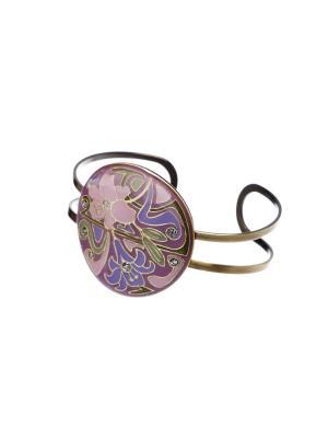 Браслет Clara Bijoux. Цвет: светло-зеленый, розовый, фиолетовый