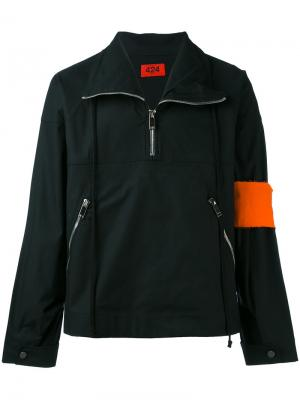 Куртка на молнии 424 Fairfax. Цвет: чёрный