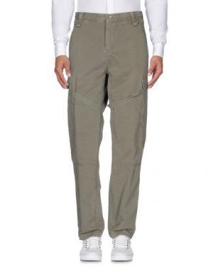 Повседневные брюки DANIELE ALESSANDRINI HOMME. Цвет: серый