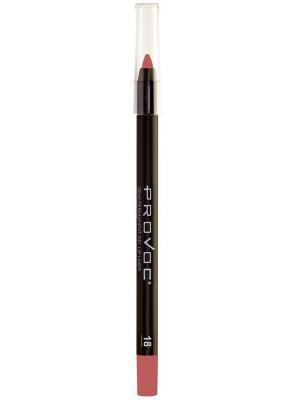 PV0018 Gel Lip Liner 18 Irresistible Гелевая подводка в карандаше для губ (цв.натурально-розо Provoc. Цвет: розовый