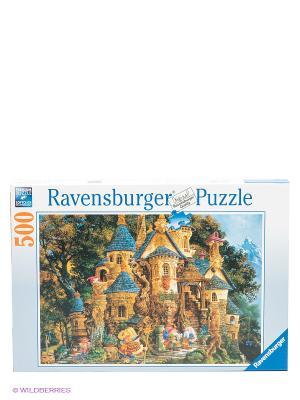 Паззл Школа волшебства, 500 шт Ravensburger. Цвет: бежевый, синий, зеленый