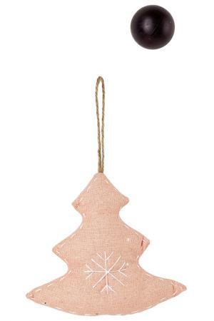 Ёлочная игрушка Ёлочка Scotton. Цвет: розовый