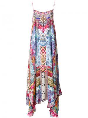 Платье Flower Hour Camilla. Цвет: многоцветный