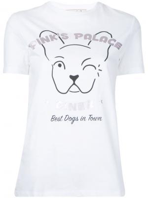 Printed T-shirt Être Cécile. Цвет: белый