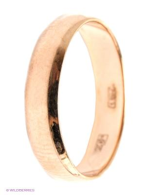 Кольцо обручальное SOKOLOV. Цвет: золотистый