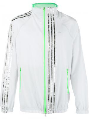 Спортивная куртка Adidas By Kolor. Цвет: серый