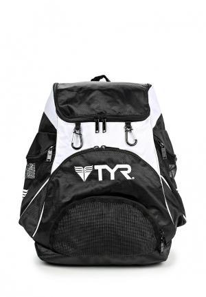 Рюкзак TYR. Цвет: черно-белый