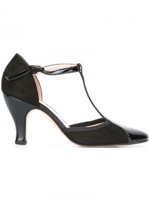Туфли с Т-образным ремешком Repetto. Цвет: чёрный