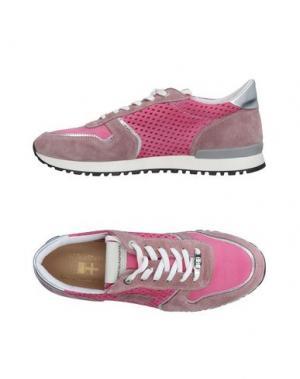 Низкие кеды и кроссовки D'ACQUASPARTA. Цвет: фуксия