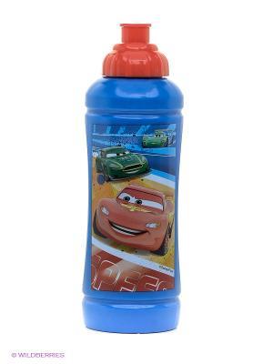 Бутылка спортивная  Тачки Trudeau. Цвет: синий, красный