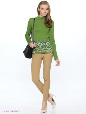 Джемпер Анна Чапман. Цвет: зеленый