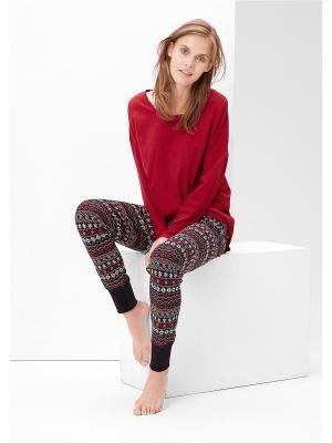 Пижама S.OLIVER. Цвет: красный