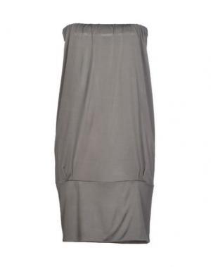 Короткое платье SHI 4. Цвет: серый