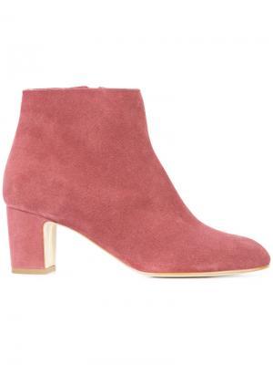 Ботинки по щиколотку Rupert Sanderson. Цвет: розовый и фиолетовый