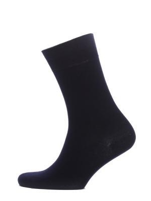 Носки, 2 пары HOSIERY. Цвет: темно-синий