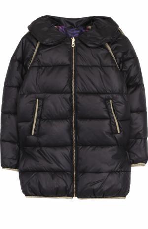Стеганое пальто на молнии Marc Jacobs. Цвет: черный