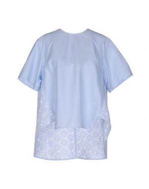 Блузка AIMO RICHLY. Цвет: лазурный